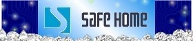 SafeHome網路世界一分店的LOGO