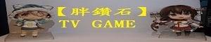 【胖鑽石】 TV GAME 專賣店的LOGO