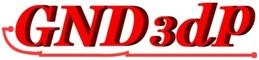 GND3dp 3D列印機的賣場的LOGO