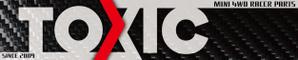 TOXIC 動態模型館的LOGO