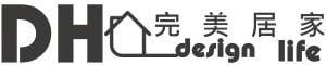 【DH 完美居家】的LOGO