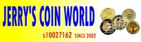 JERRY'S COIN WORLD的LOGO