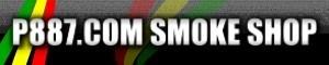 P887 SMOKE SHOP 煙具精品的LOGO