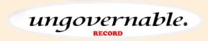 【師大UVB DJ教室】ungovernable record的LOGO