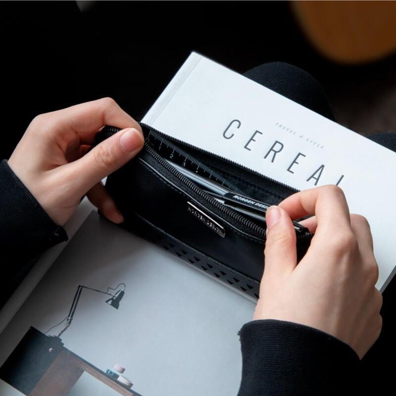 筆袋男簡約網紅創意鉛筆盒女ins潮高顏值日系大容量小學生文具盒
