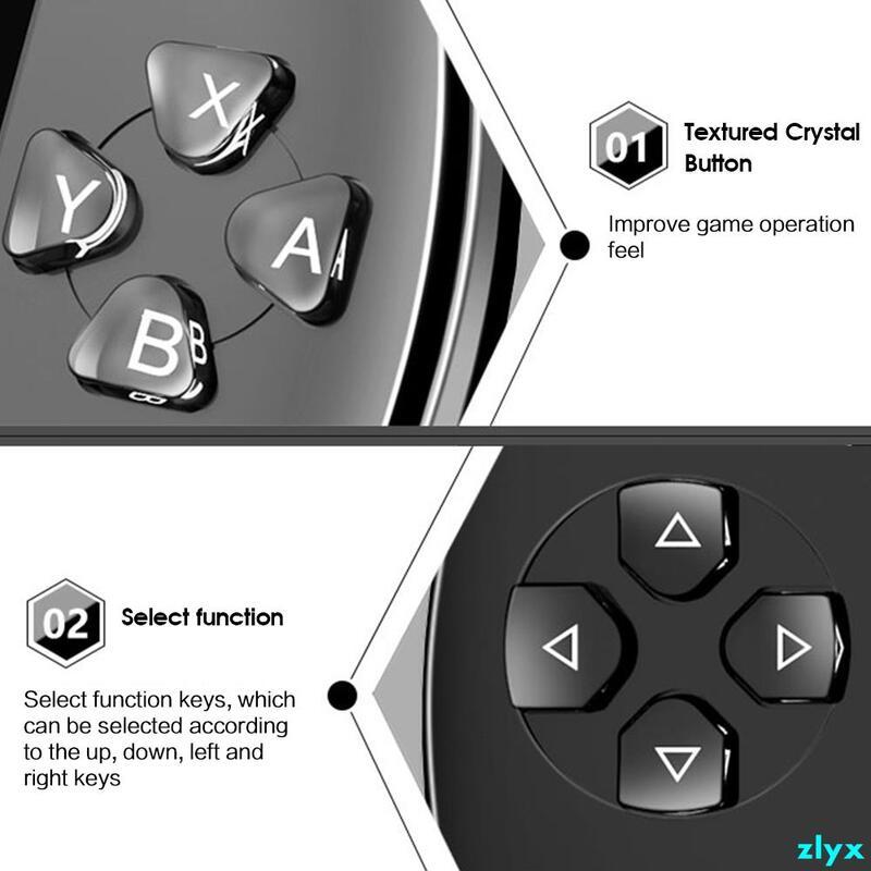 現成的4.3英寸64位8GB PSP掌上游戲機內置1w遊戲3CD