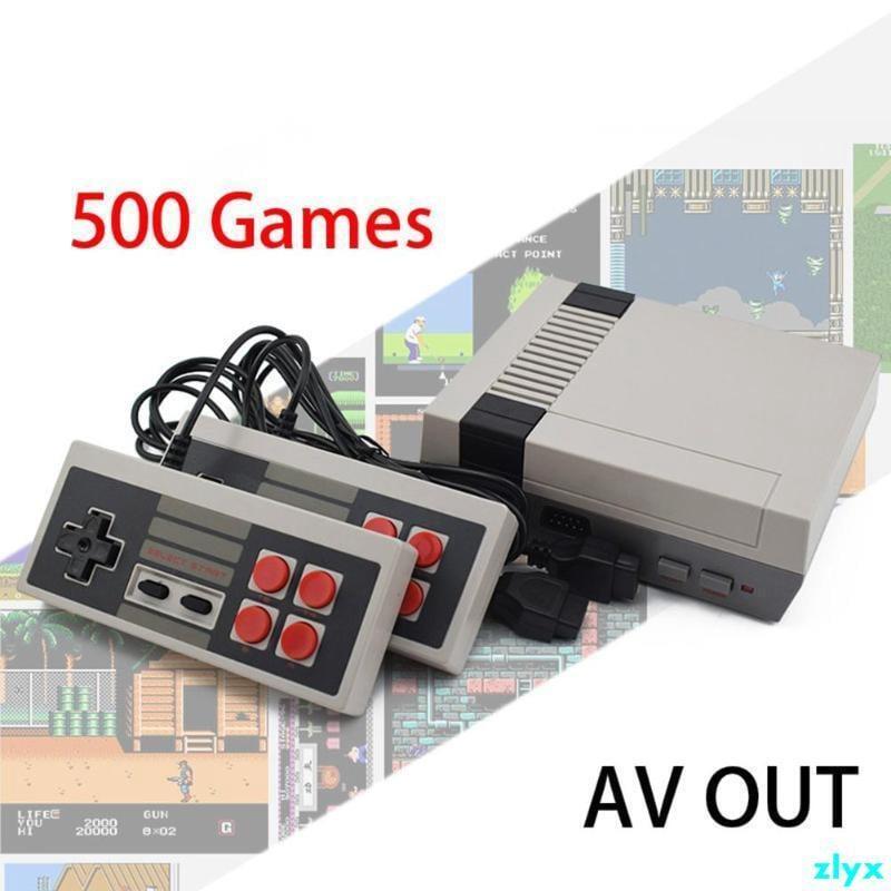 內置 620 / 621 遊戲迷你電視遊戲機 8 位復古經典手持遊戲機 Av / Hdmi 輸出視頻遊戲機玩具