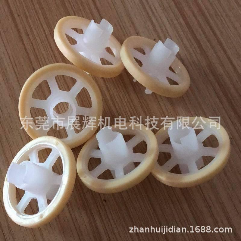 生產廠家批發30包膠輪片OD30*ID10*L20*輪面6 PCB工廠設備零配件