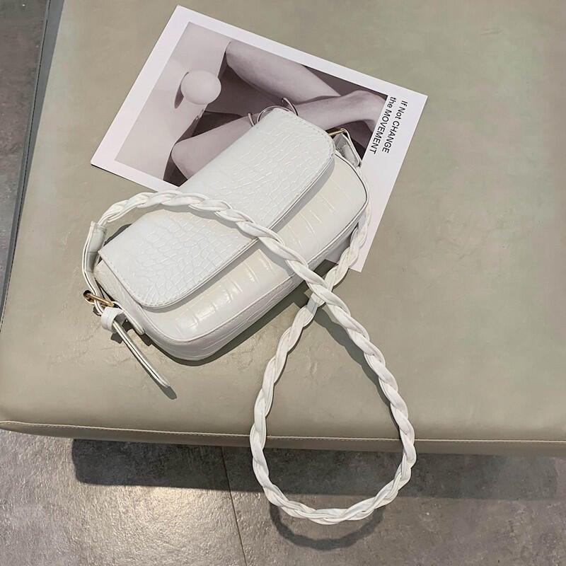 包包2020夏季新款時尚單肩小包潮流行百搭法國質感小眾斜挎包女包