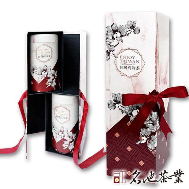 【PChome 24h購物】 【名池茶業】歡沁台灣高冷茶綜合禮盒(紅烏龍+阿里山 / 300g) DBALB4-A900A8EVU
