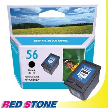 【PChome 24h購物】 RED STONE for HP C6656A環保墨水匣(黑色)NO.56 DCAF1Q-A39837060