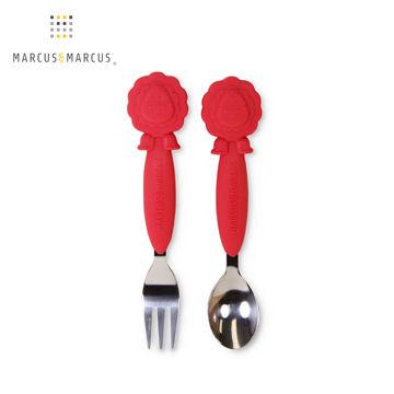 【PChome 24h購物】 加拿大MARCUS&MARCUS 動物樂園不鏽鋼叉匙餐具組(獅子) DEAISJ-A9007U057