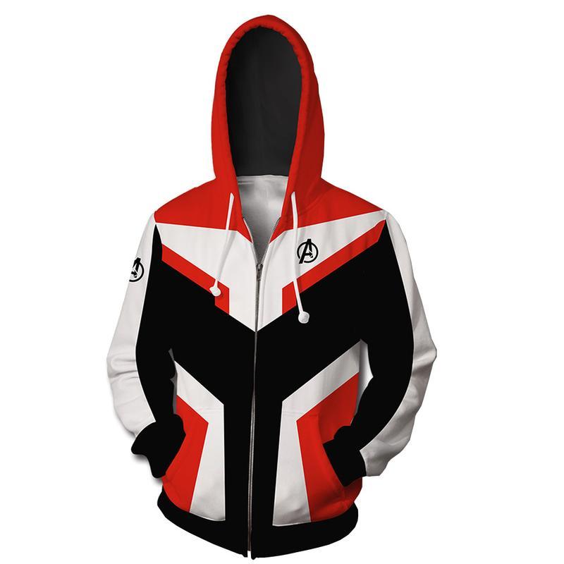復仇者聯盟4 量子戰衣衛衣概念款 3D衛衣 拉鏈連帽衫