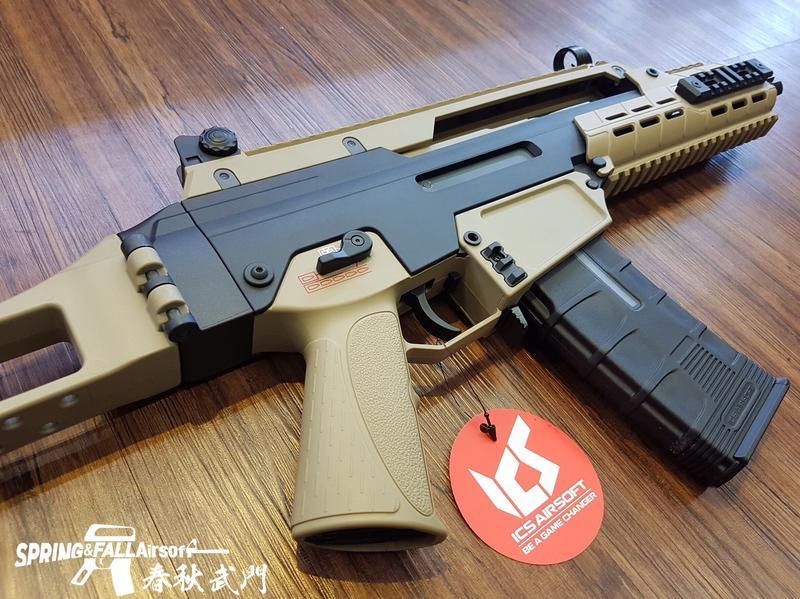 [S&F春秋武門 ] ICS 一芝軒 AARF 輕量化折疊托 電動步槍  生存遊戲