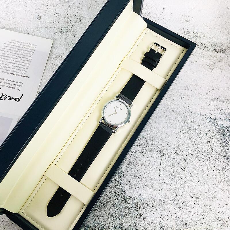2020新款個性簡約風情侶款手表一對時尚休閑防水女士潮流紀念禮物