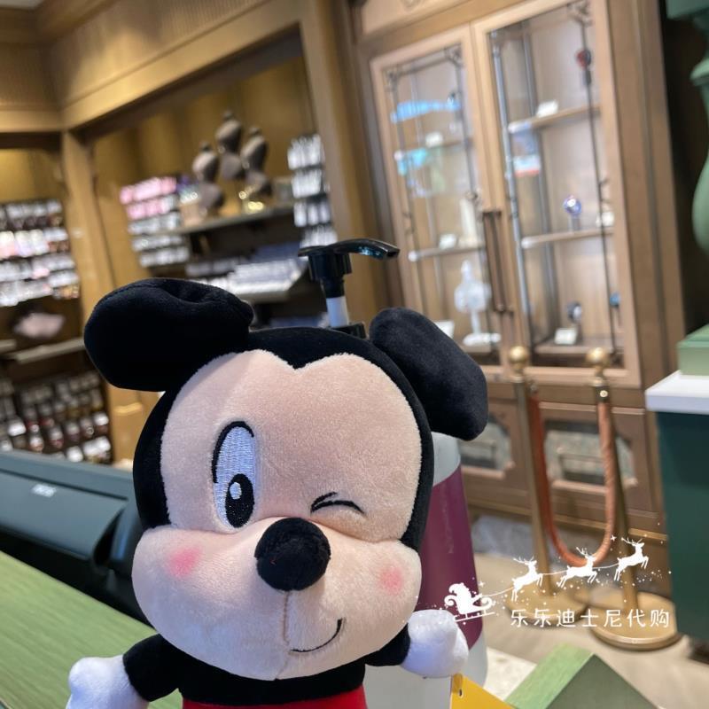 特價上海迪士尼樂園 Q版米奇老鼠毛絨公仔娃娃玩偶卡通動漫可愛 免運