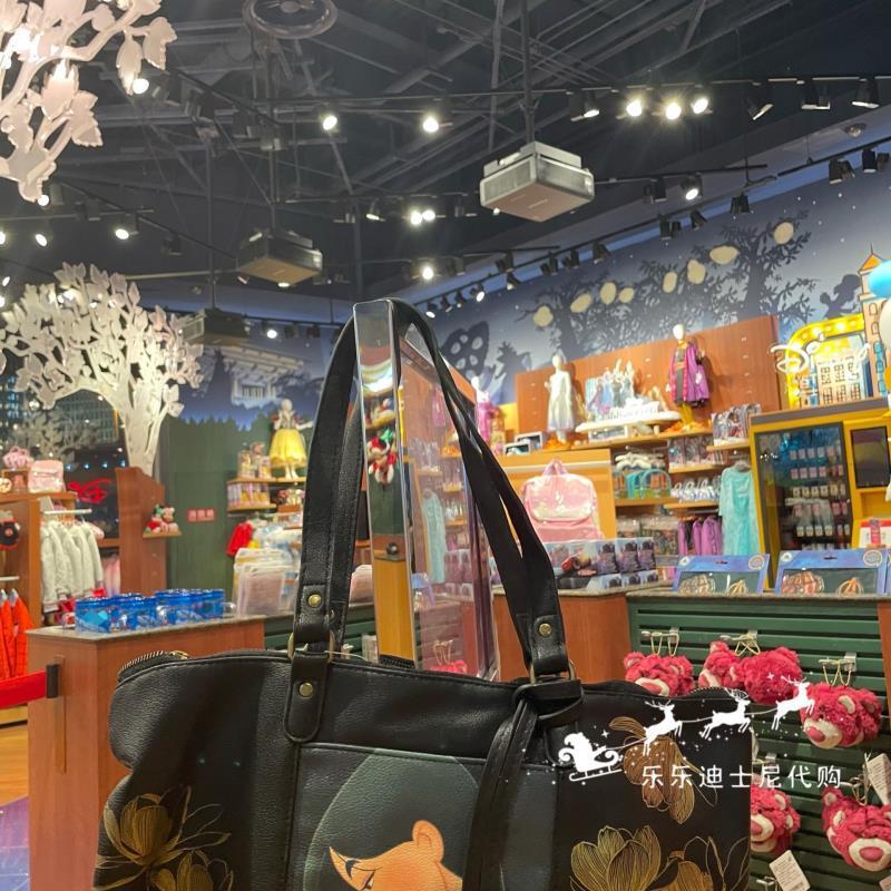 特價上海迪士尼樂園 花木蘭斜挎包單肩包動漫包包卡通包 免運
