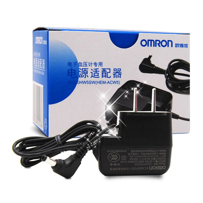 原裝omron歐姆龍電子血壓機計電源適配器DC6V測量儀充電器電源線