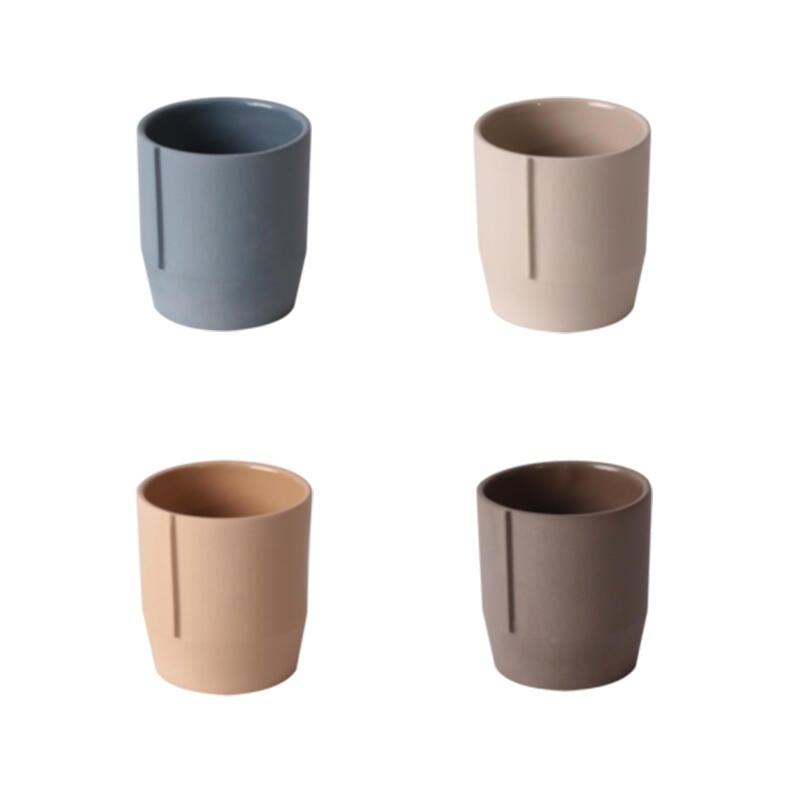 設計師品牌咖啡陶瓷手握杯個性moiminjia精品單品美式拿鐵水杯