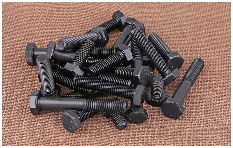 12.9級外六角螺絲 高強度螺栓/螺釘(合金鋼)材質M10*16-10*180