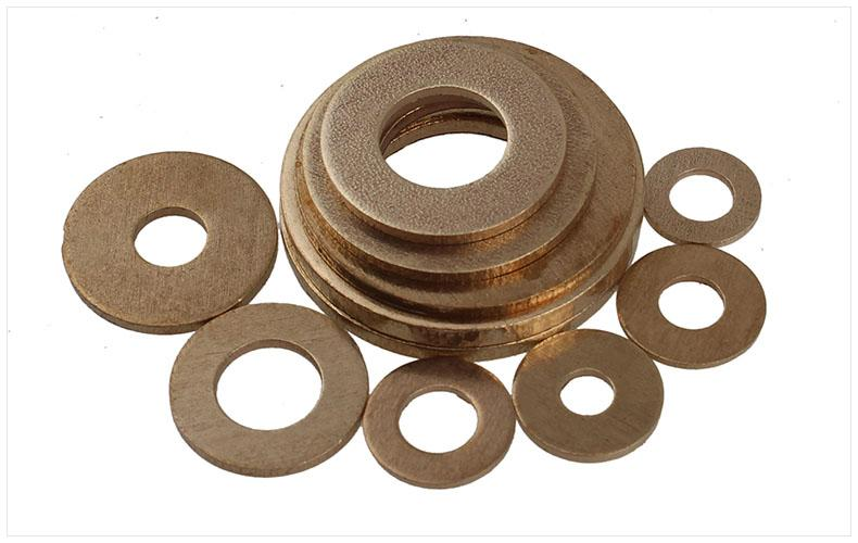 銅墊片墊圈 平墊圈平墊片純黃銅華司介子金屬平墊GB97 M2M3M4-M20