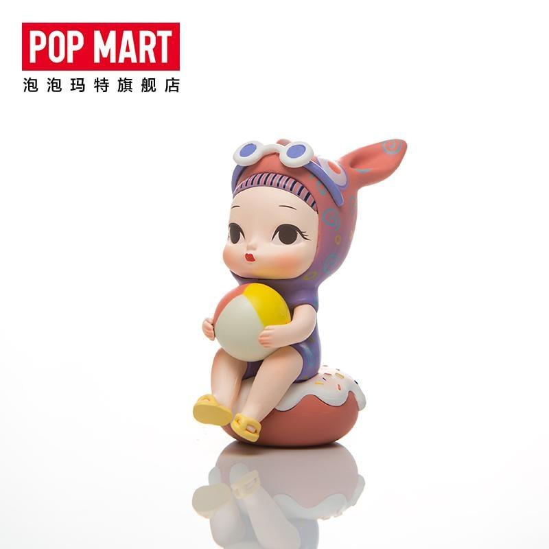 POPMART泡泡瑪特 可米生活夏日末末茶系列盲盒公仔晚安兔娃娃手辦
