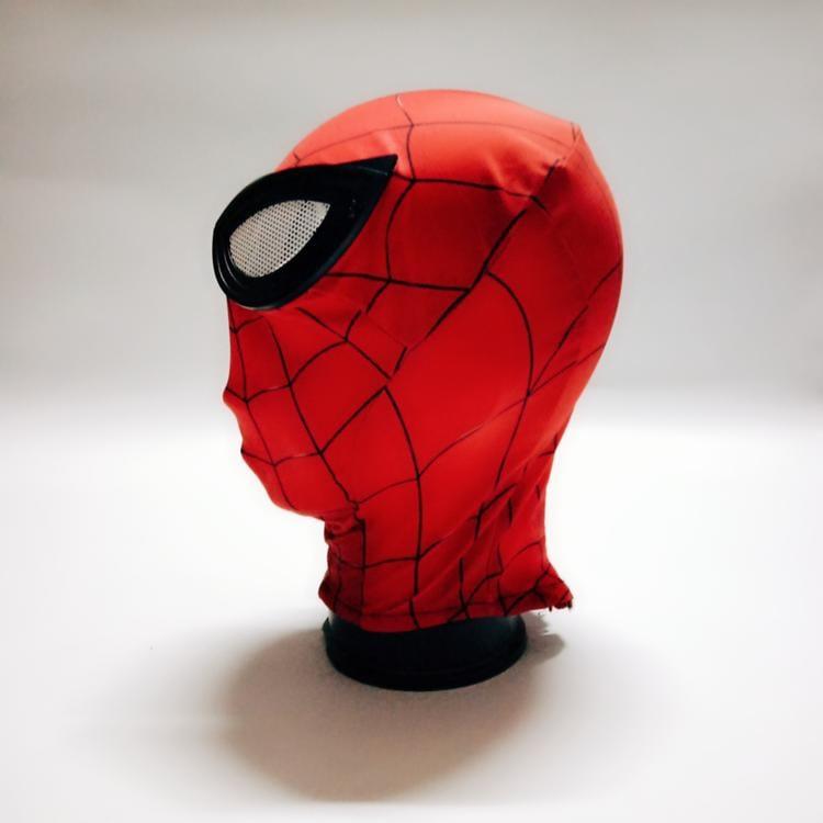 新品熱賣蜘蛛俠頭套 緊身cos漫威復聯4英雄遠征成人兒童彈性 布蜘蛛俠頭套