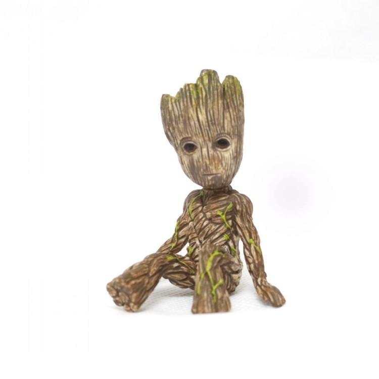 新品熱賣可愛銀河護衛隊2樹人格魯特公仔 玩偶擺件周邊手辦寶寶鑰匙扣掛件
