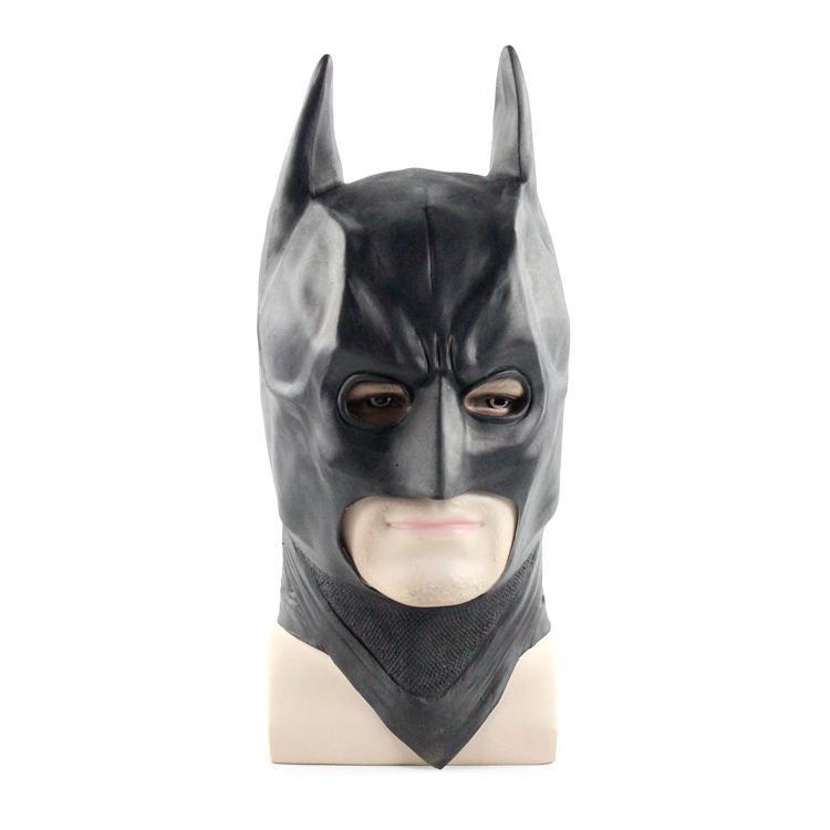 新品熱賣蝙蝠俠頭套cos黑暗騎士joker萬圣節化裝舞會派對道具女蝙蝠俠面具