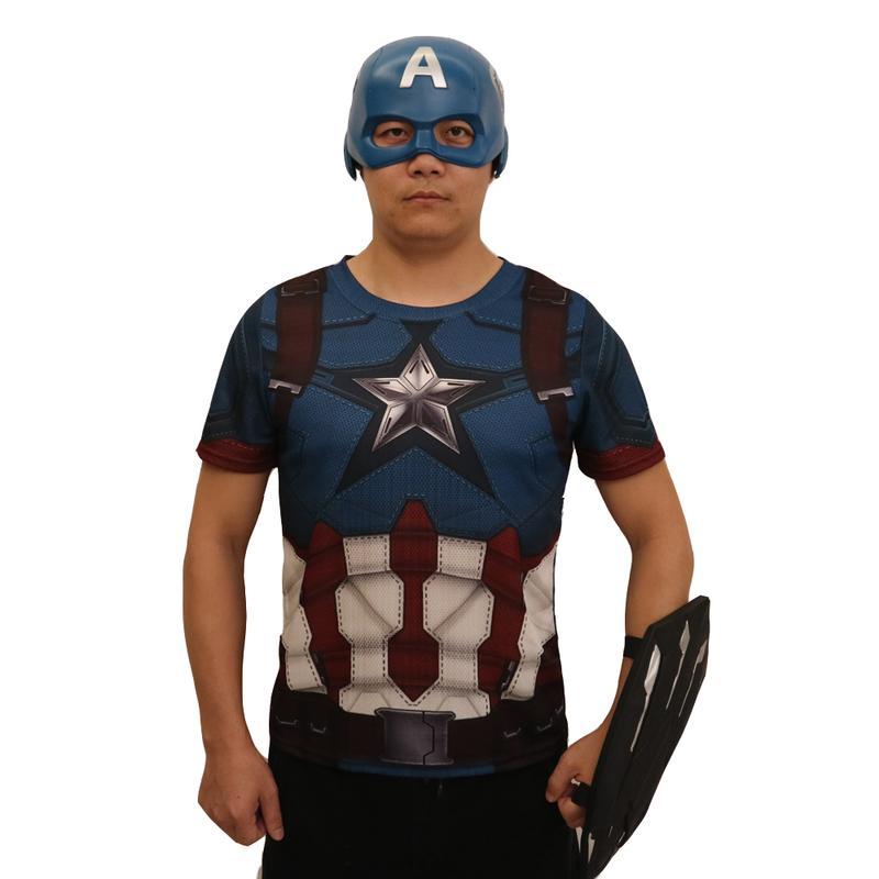 新品熱賣復仇者聯盟4美國隊長面具盾牌金盾萬圣節道具影視漫威鋼鐵俠滅霸