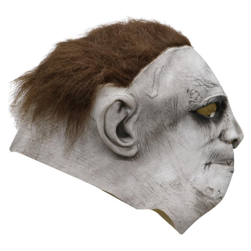 新品熱賣2018年電影月光光心慌慌面具頭套麥克梅爾萬圣節鬼臉恐怖頭套面具