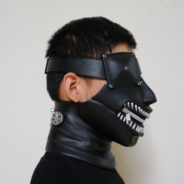 新品熱賣金木研電影東京食尸鬼面具面罩口罩喰種面具cos動漫日系道具周邊