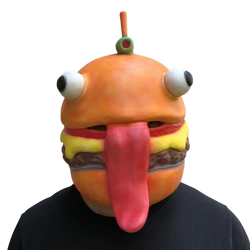 新品熱賣大白菜面具頭套搞笑水果蔬菜頭套好玩派對直播唱歌演出乳膠圣誕節