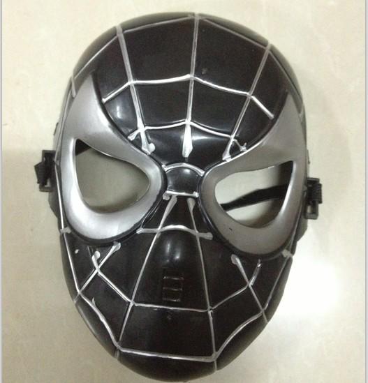 新品熱賣兒童節派對兒童面具化妝舞會面具動漫卡通面具蜘蛛俠面具兒童禮物