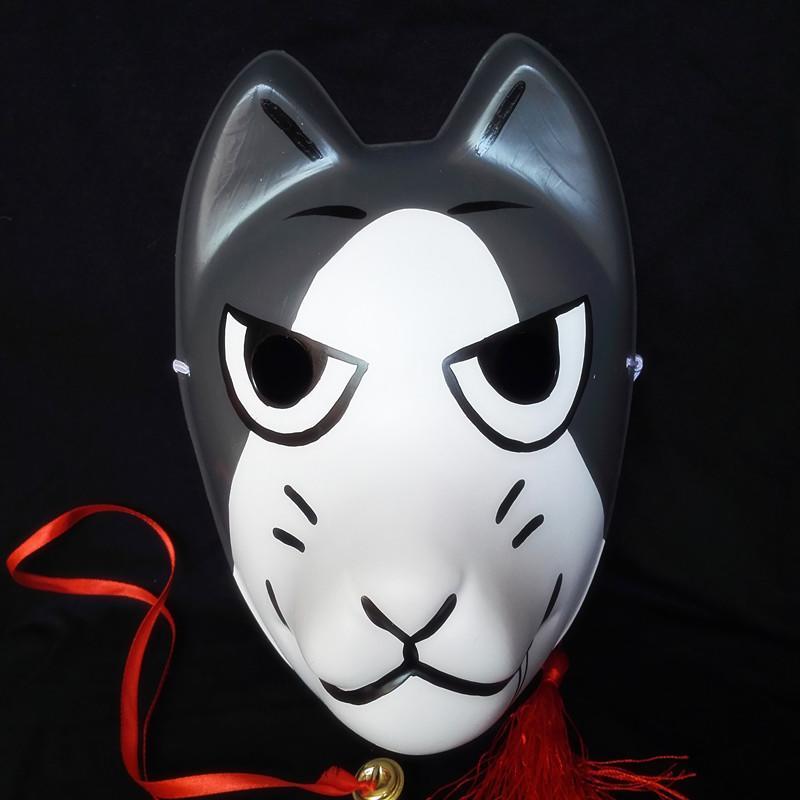 新品熱賣新款妖狐手繪和風日式狐貍狗面具漫展cos可定做動漫周邊禮品