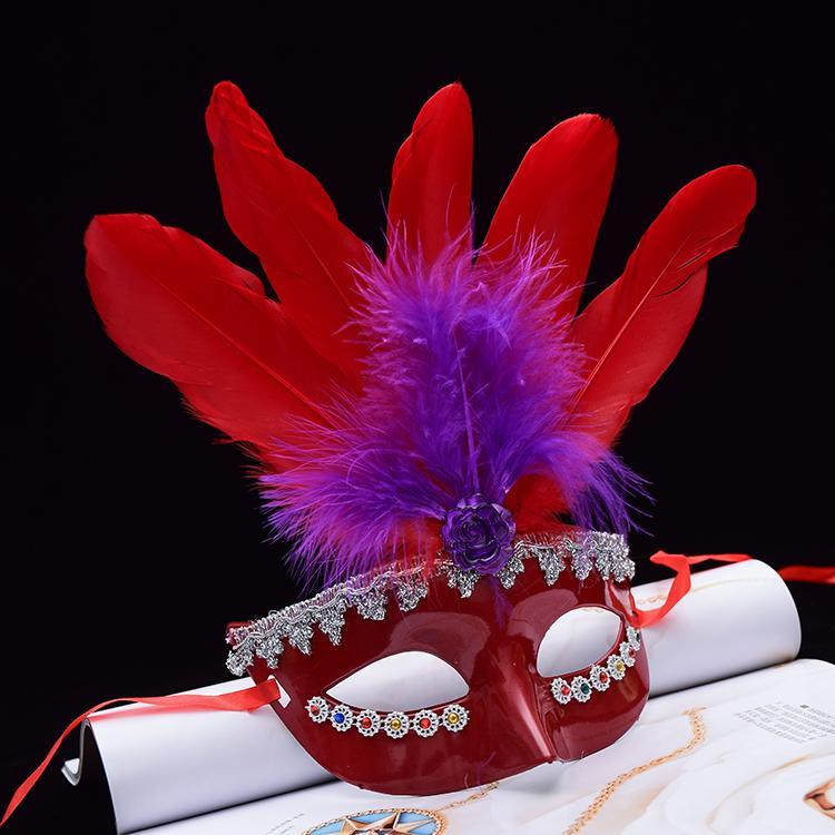 新品熱賣圣誕節面具女公主半臉化妝舞會面具派對性感成人公主面具兒童可愛