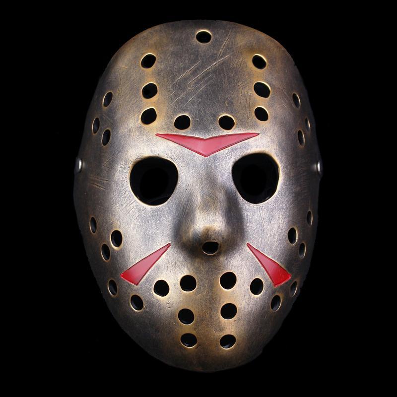 新品熱賣萬圣節珍藏弗萊迪大戰杰森恐怖cos裝扮活死人法老同款樹脂面具