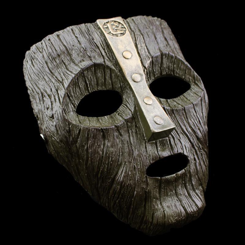新品熱賣圣誕節變相怪杰洛基THE MASK恐怖cos裝扮搞笑頭套道具樹脂面具
