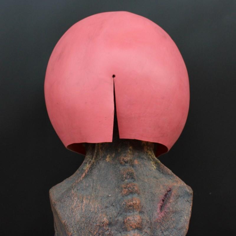 新品熱賣新款萬圣節傘學院cahcha恰恰The umberlla academy乳膠面具頭套