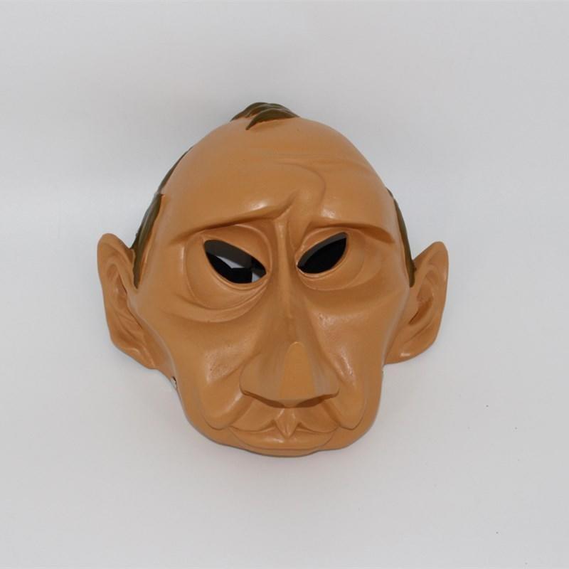 新品熱賣萬圣節名人搞怪卡通COS裝扮惡搞精品樹脂面具