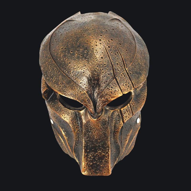 新品熱賣萬圣節新款鐵血戰士鋼鐵俠復仇者聯盟滅霸化裝舞會COS樹脂面具