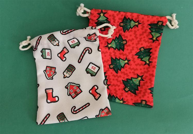 totu圣誕老人袋子圣誕樹裝飾圣誕襪禮袋包裝袋圣誕裝飾禮品年后