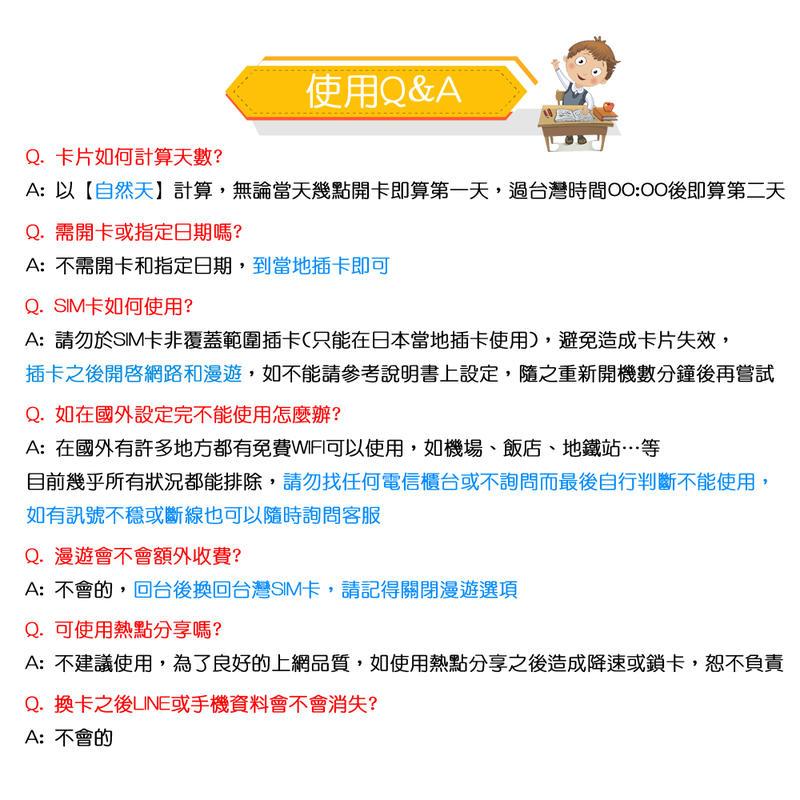 【火速出貨】日本網卡 7天 吃到飽 不降速 隨插即用 雙電信 日本上網卡 日本sim卡