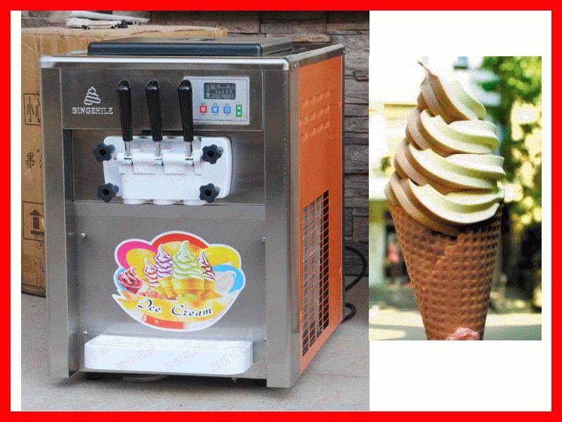 18~22L台式三色霜淇淋機 霜淇淋製造機 冰淇淋機