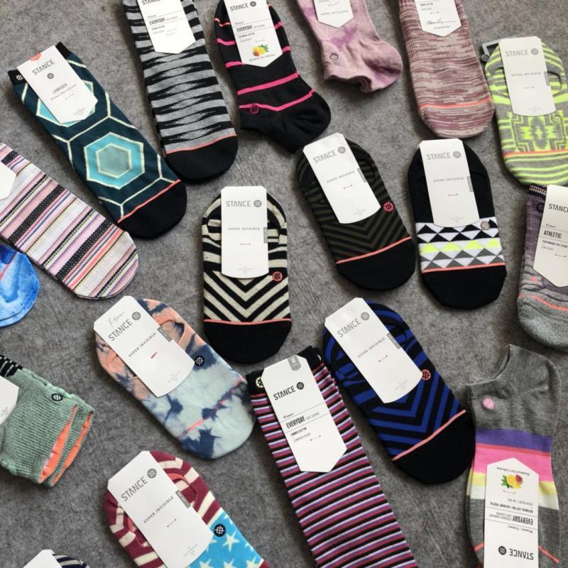 春夏stance女士美國回購新品115隱形船襪中邦親膚潮流短襪
