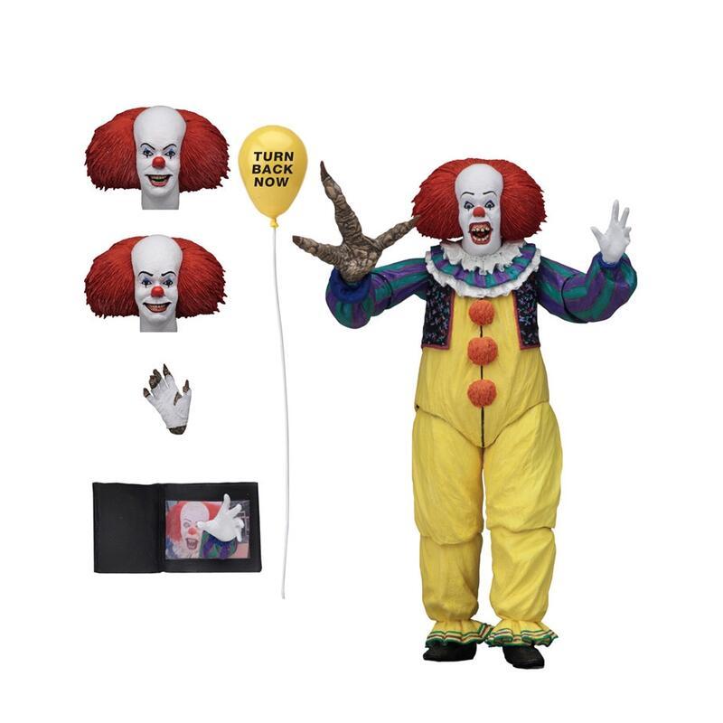 NECA 小丑回魂IT 1990版 老版小丑 7寸可動 人偶模型手辦人偶公仔