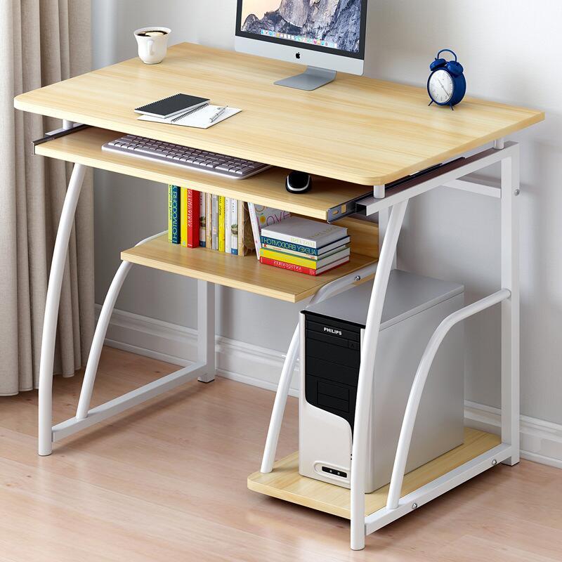 小戶型60/70/80cm長單人迷你小型書桌電腦臺式桌仿實木辦公桌DJ9
