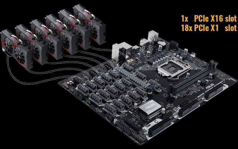 暢銷Asus/華碩B250 MINING EXPERT支持6卡8卡12卡19卡