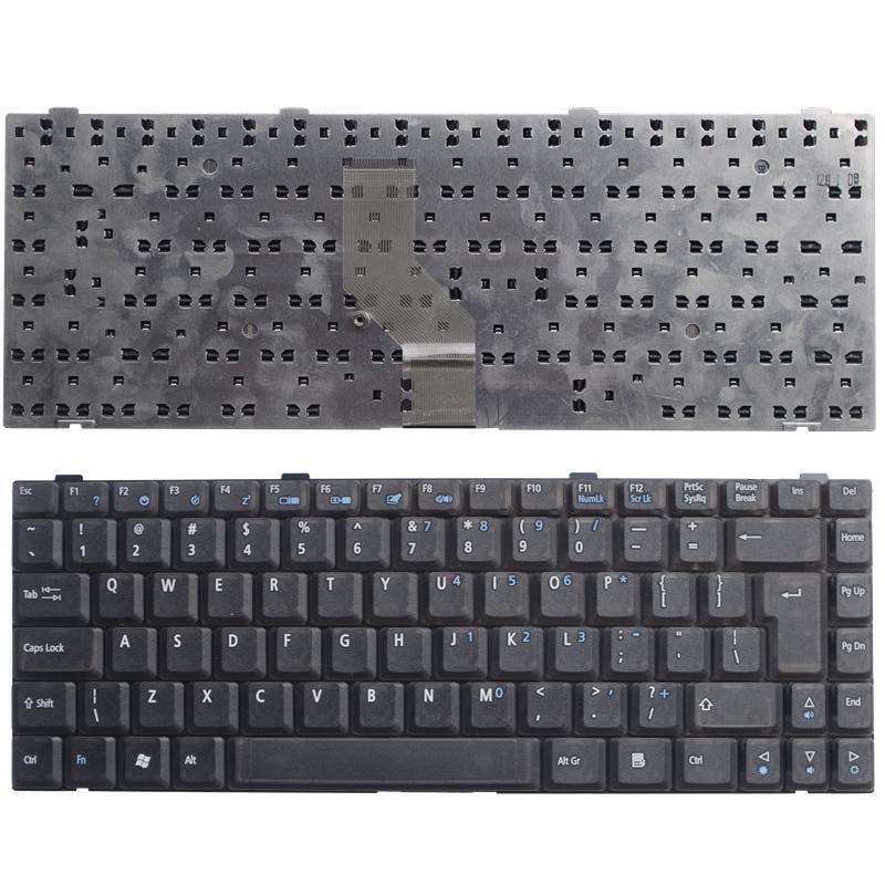 冠澤 同方 K40 K40A K40B K40C K40I V100 V100A V80鍵盤英文