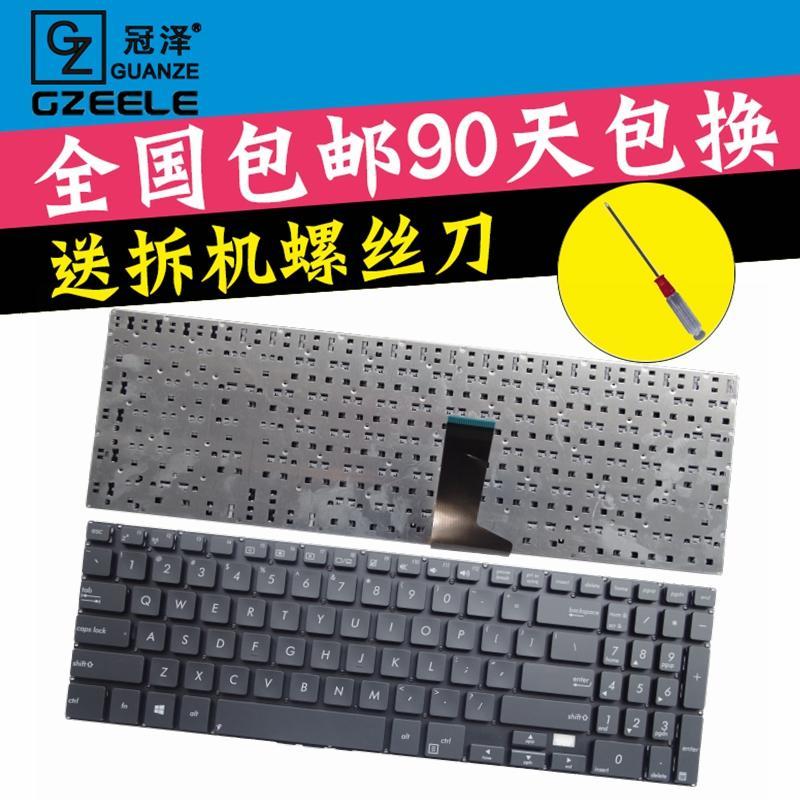 冠澤 華碩 ASUS  P500 P500CA 筆記本鍵盤 全新US英文